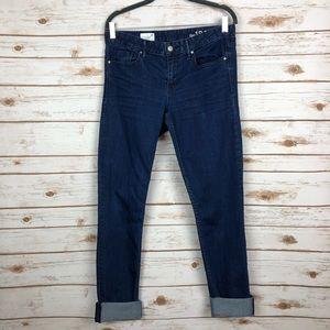 GAP Always Skinny Cuffed Jeans